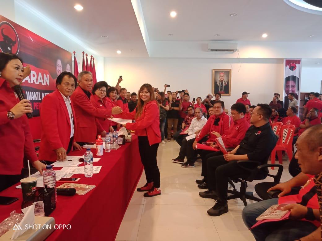 SSK Optimis Dipinang PDI P Maju Calon Walikota Manado