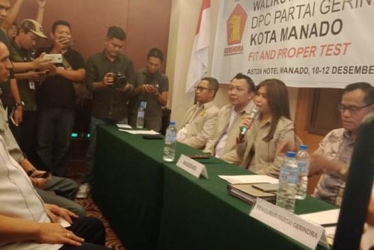 Victor Mailangkay Penuhi Undangan Gerindra Daftar sebagai Cawali Kota Manado