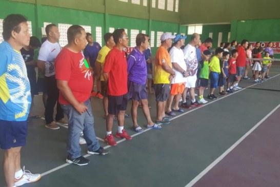 Ratusan Atlet Bersaing di ODSK Christmas Open Tennis Tournament 2019