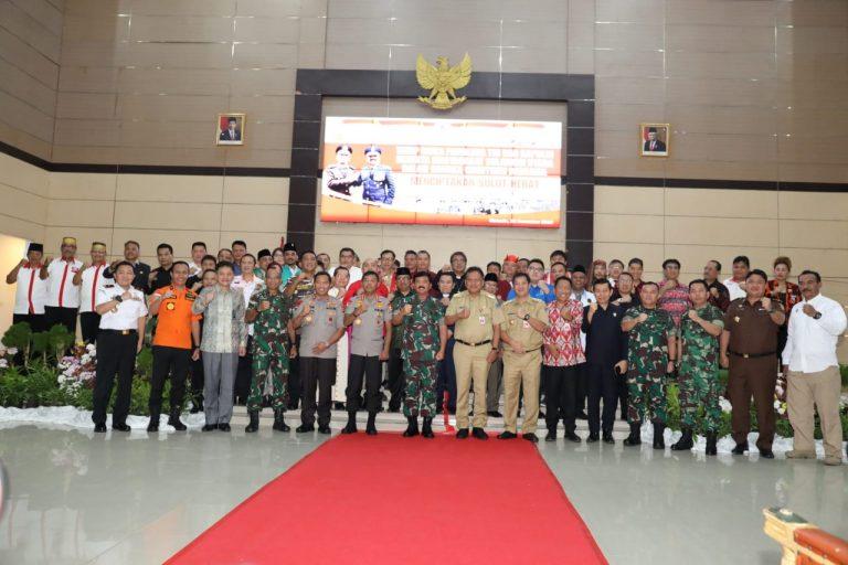 Pastikan Sulut Aman, Panglima TNI dan Kapolri Pantau Langsung Keamanan Jelang Nataru di Sulut