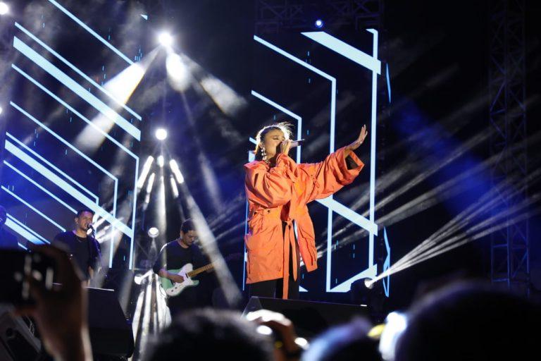 Hebat! Konser Agnes Mo di NSCF 2019 Manado Spektakuler