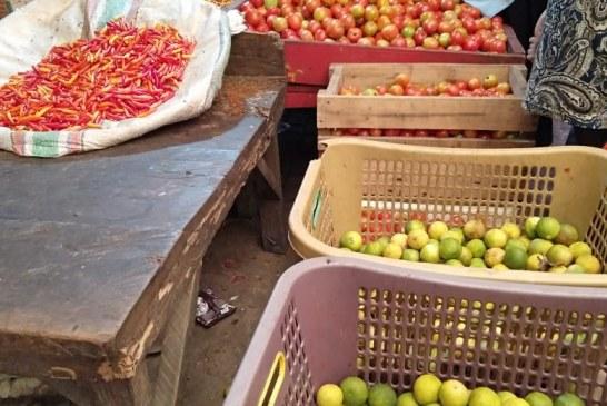 Harga Bawang Merah Tembus Rp 55-60 ribu per kg di Pasar Serasi Kotamobagu