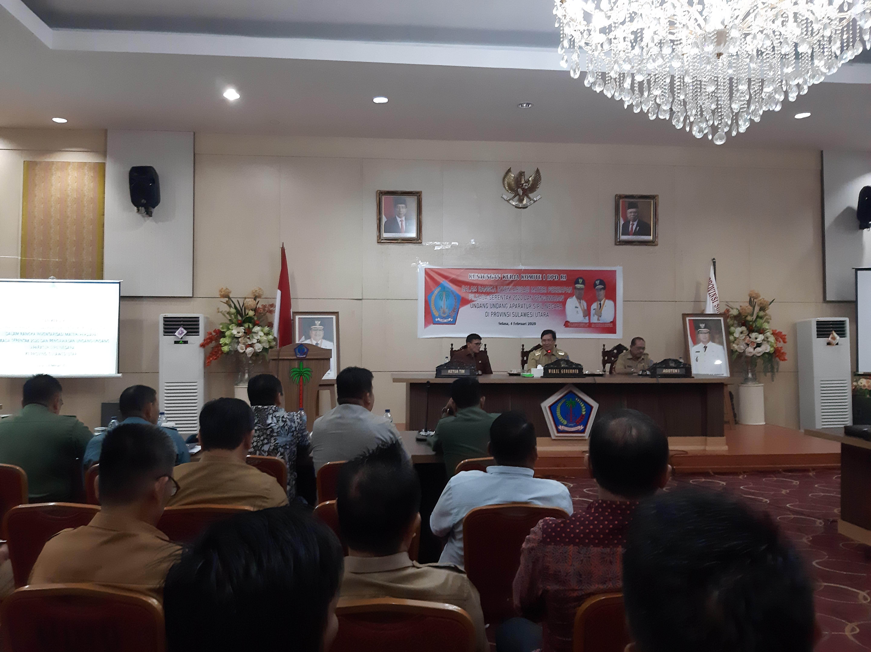 Wagub Kandouw Terima Kunker DPD RI Terkait Inventarisasi Materi Persiapan Pilkada 2020