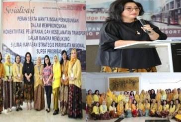 First Lady Sulut Turut Dampingi Ketua DWP Dirjen Perhubungan Darat Bahas Peran Wanita Dalam KSP
