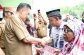 Kunjungan Kerja ke Bolsel, Gubernur Olly Dondokambey Resmikan Masjid, Gereja & Pure