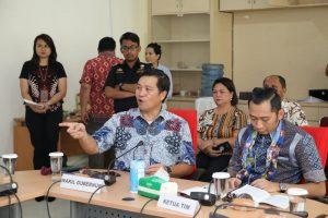 Kepada Badan Anggaran, Wagub Kandouw Minta Dukung Pengembangan KEK Bitung