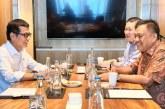 Gubernur Olly dan Menteri Wishnutama Ngopi Bareng Bahas Pariwisata Sulut