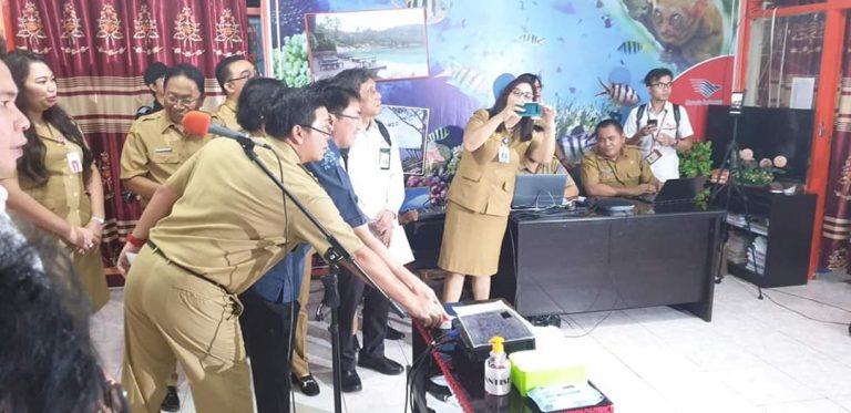 Dipantau Wagub Kandaouw, UNBK Berlangsung Lancar, Pemprov Terapkan Prosedur Cegah Corona
