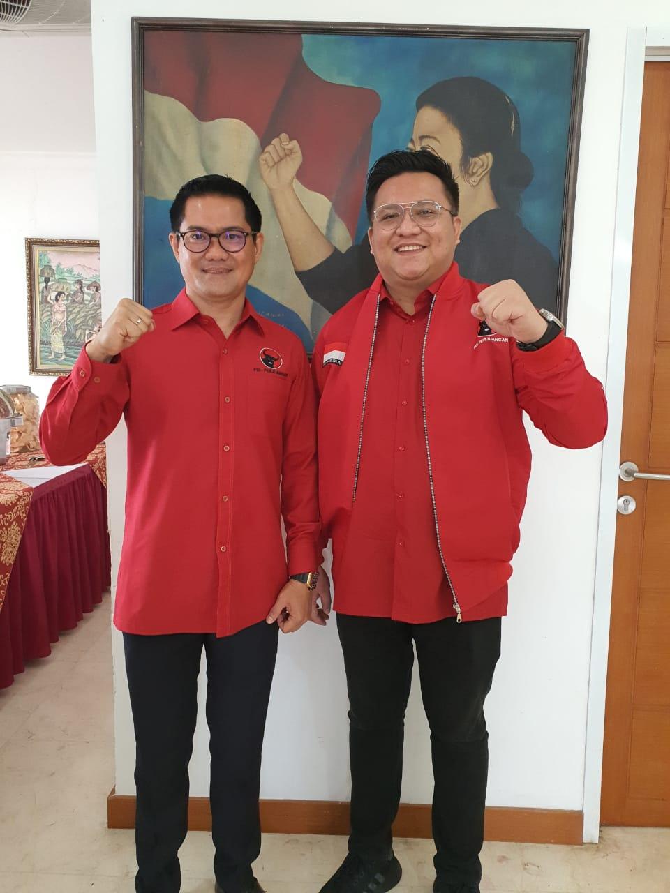 Sah, DPP PDI-P Tetapkan JG-KWL sebagai Cabup & Cawabup Minut