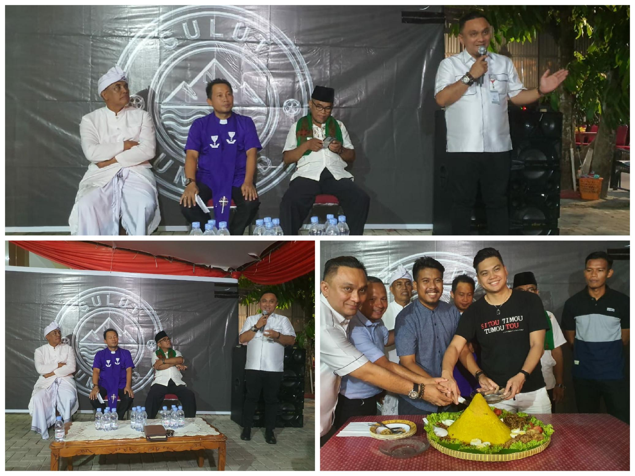 Mewakili Gubernur Olly, Victor Rarung Minta Sulut United Jaga Kekompakkan dan Berdoa