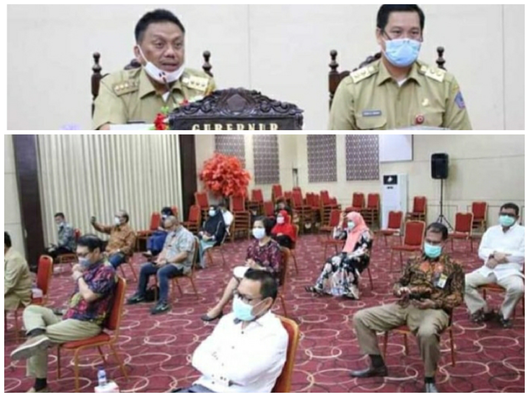 OD-SK Gelar Pertemuan Bersama Tokoh Agama Bahas Pencegahan Wabah Covid-19