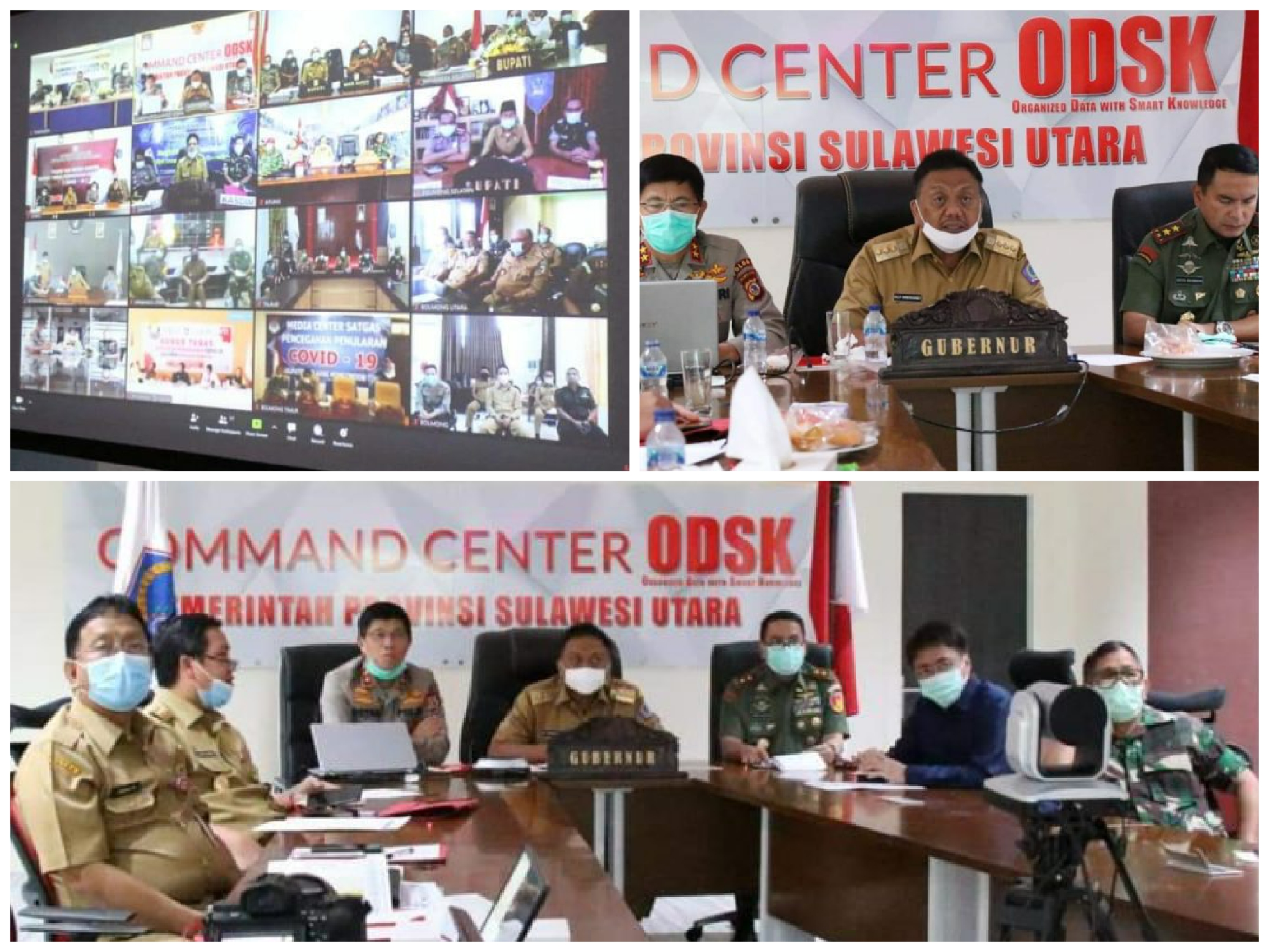 Gubernur OD Minta Bupati dan Walikota 'Keroyokan' Bantu Masyarakat Terdampak Covid-19