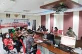 Melalui Vidcon, Sekdaprov Silangen dan KPK Bahas Pencegahan Tipidkor Anggaran Penanganan Covid-19