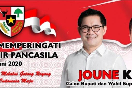Joune Ganda: Pancasila Tetap Kokoh Satukan Bangsa Indonesia