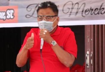 Ketua DPD PDI-P Olly Isyaratkan Calon Pasangan di Pilwako Manado dari Internal Partai