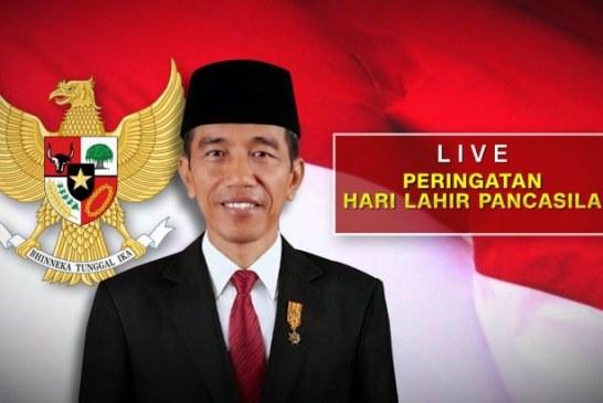 Berikut Pidato Lengkap Presiden Jokowi di Hari Lahir Pancasila: Pandemi Uji Kedisiplinan Kita