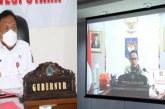 Lewat Vidcon, Gubernur Olly Bersama Mendagri Bahas Pemantapan Pilkada Serentak 2020