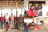 Gubernur Olly dan Wagub Kandouw Salurkan 391 Paket Sembako untuk Masyarakar Terdampak Covid-19 di Minahasa