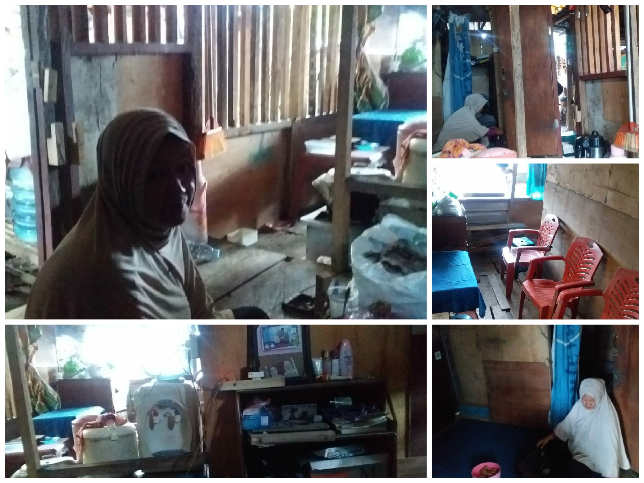 Miris, Keluarga Miskin di Manado Ini Sampai Sekarang tak Kunjung Dapat Bantuan BLT