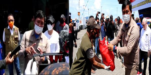 Sitaro Tak ada Kasus Covid-19, Wgub Kandouw: Bukti Masyarakat Patuhi Sosial dan Phsycal Distancing