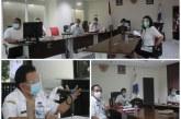 Sekdaprov Silangen Ikuti VC Bersama KPK Bahas Pencegah Korupsi dalam Pengelolaan BPD