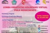Meriahkan HUT RI, PINKAN Indonesia-Pemprov Sulut Gelar Lomba Kreativitas Kolintang Virtual Piala Menkominfo