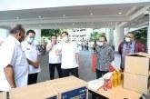 Wagub Kandouw Salurkan 2.500 Paket Balasa Bagi Pelaku Parekraf Sulut