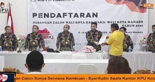 Memenuhi Syarat 'Tarung' di Pilkada Manado, Golkar Siap Menangkan Pasangan SSK-SS