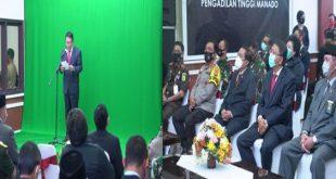 Pemprov Sulut Sambut Peresmian Pengadilan Terpadu di Manado, Jadi Pertama di Asia Tenggara