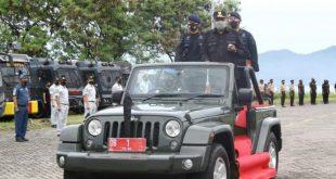 Persiapan Nataru, Gubernur Olly Pimpin Apel Gelar Pasukan Operasi Lilin Samrat 2020