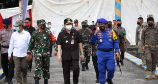 Pjs Gubernur Fatoni Pimpin Apel Keberangkatan Personel Ditpolairud Polda Sulut
