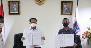 Pjs Gubernur Fatoni dan Kepala Perwakilan BPKP Sulut Teken Nota Kesepakatan Perkuat Pengawasan