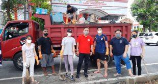 Kolaborasi Pemprov Sulut, Manajemen Sulut United Bersihkan Sampah di Manado