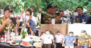 Menparekraf Sandiaga dan Gubernur Olly Bahas Pengembangan KEK Likupang bersama Stakeholder