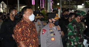 Gubernur Olly Dampingi Kapolri di Manado, Jamin Keamanan Ibadah Tri Hari Suci Paskah 2021