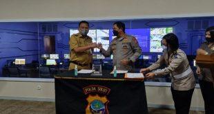Gubernur Olly Apresiasi Kerja Sama Pengintegrasian CCTV di Polda Sulut