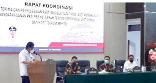 Hadiri Rakor, Sekprov Silangen Dorong Kabupaten/kota Amankan Aset Daerah