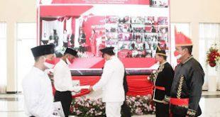 Wagub Kandouw Serahkan Remisi bagi Narapida dan Anak dalam Rangka HUT RI ke- 76